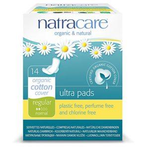 Serviettes hygiéniques et tampons bio Natracare